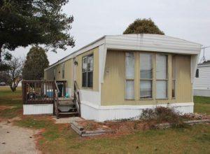 mobile home in John Douglas White murder