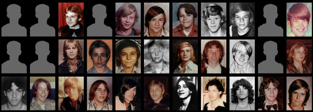 victims of John Wayne Gacy