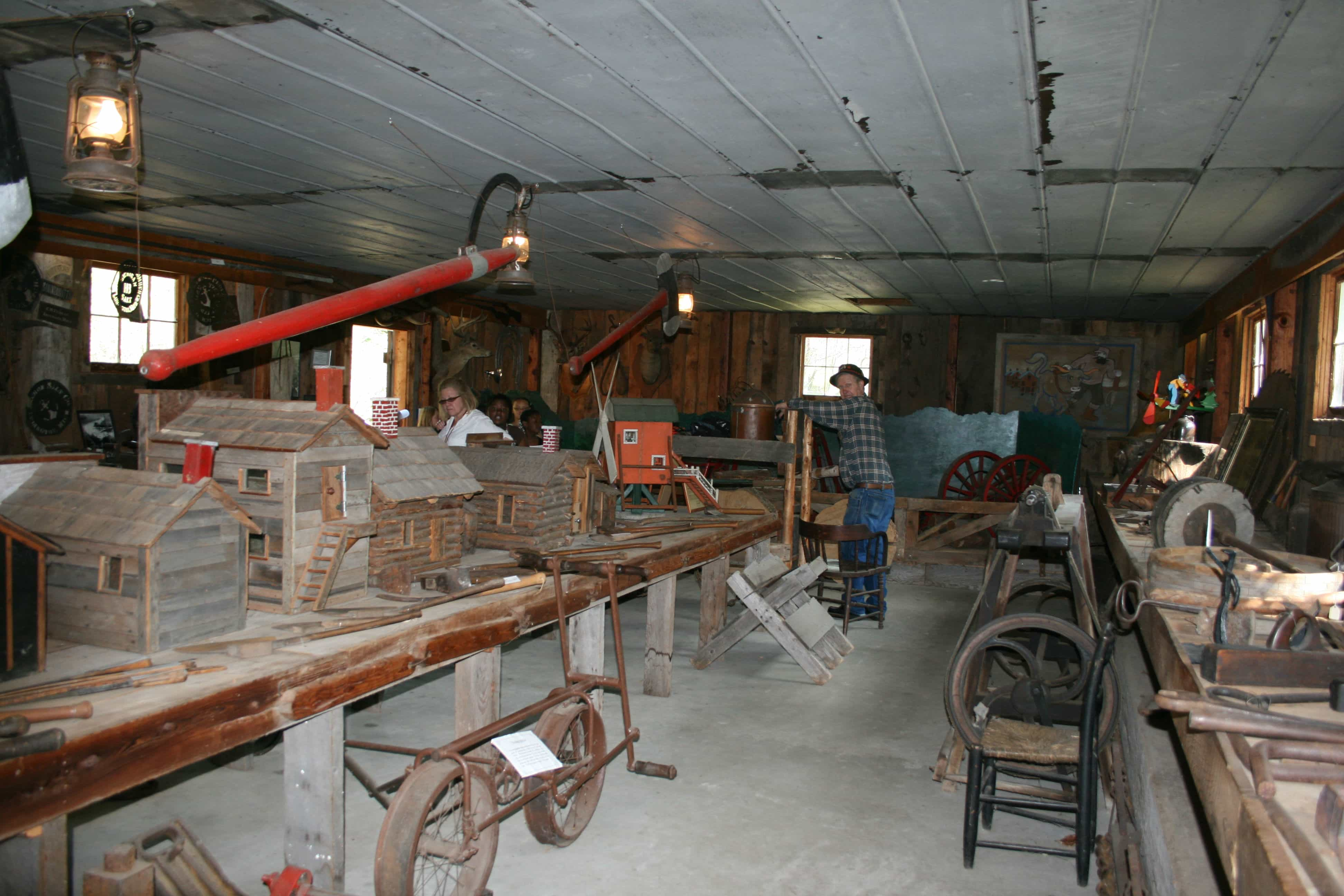 Abe Nelson Lumbering Museum