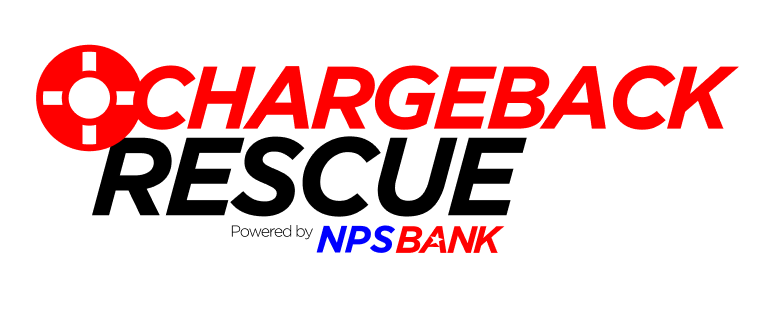 It's chargeback (TO THE) RESCUE