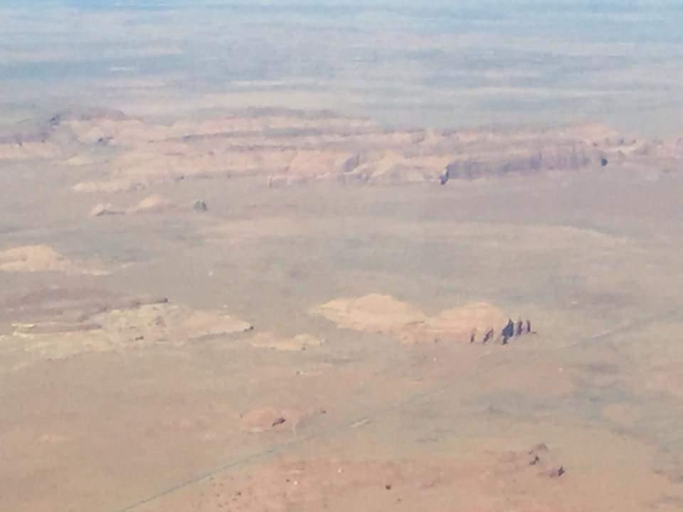 View of the desert.