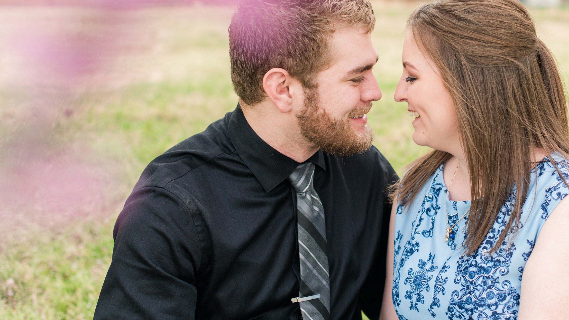 Bryant + Laura Engagement Photos in Siloam Springs, AR
