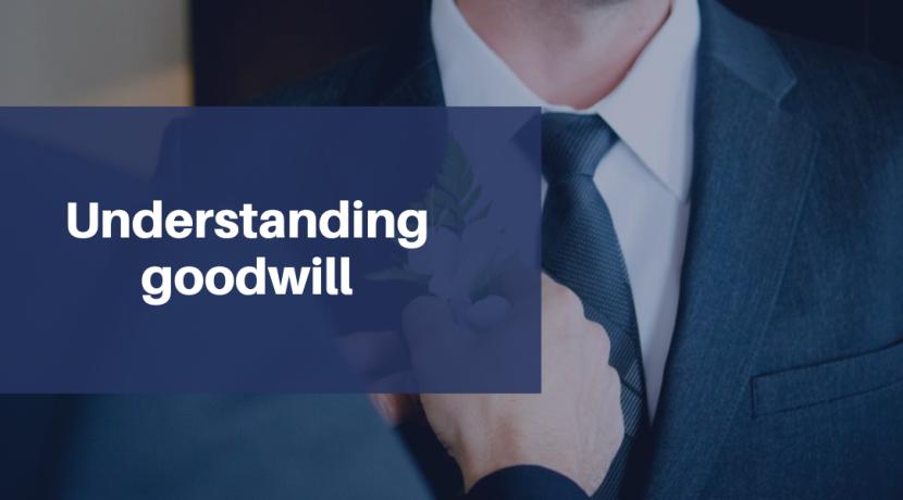 Understanding goodwill
