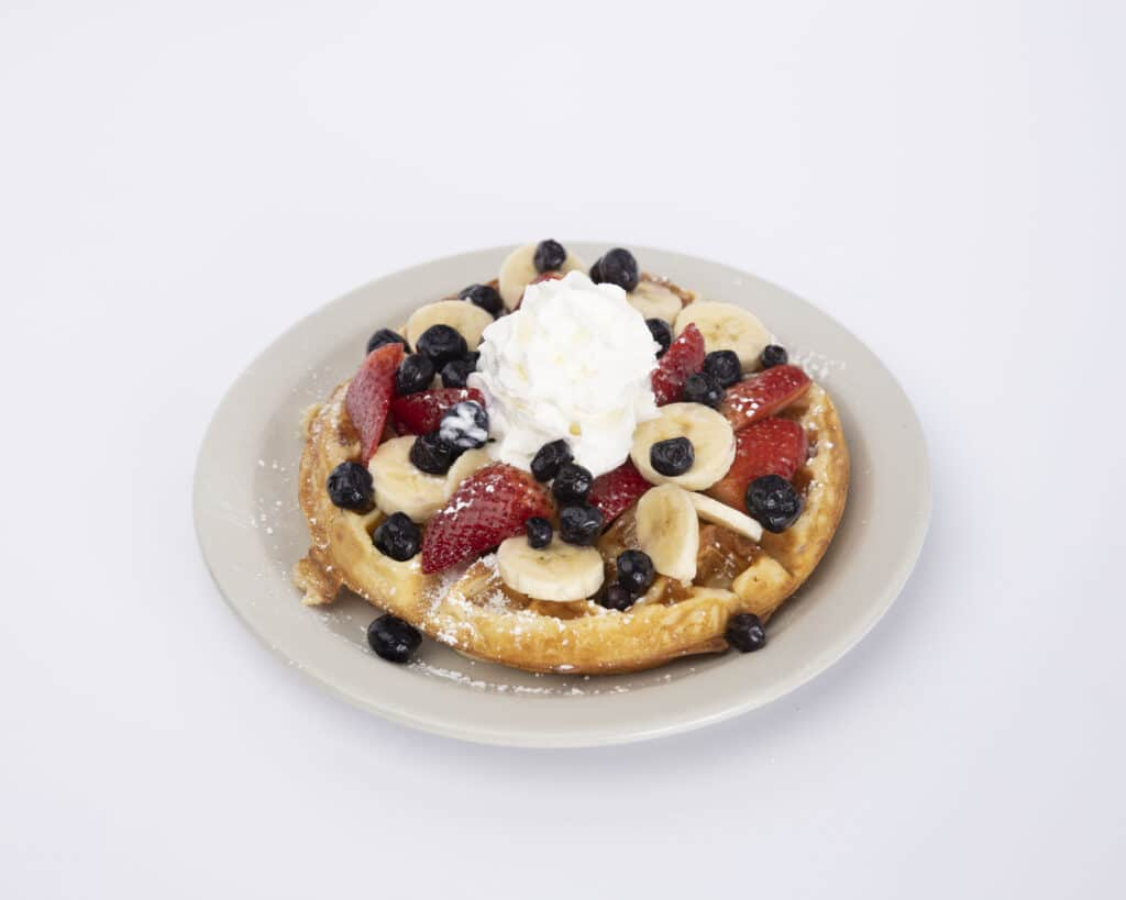 Very berry waffle