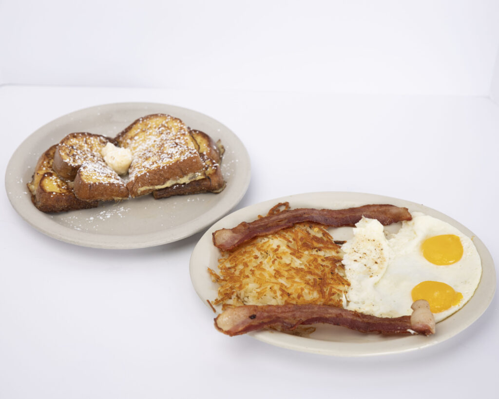 French toast combo meals