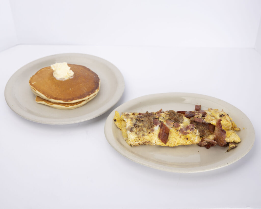 The works omelet