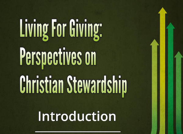 Living for Giving: Introduction Image