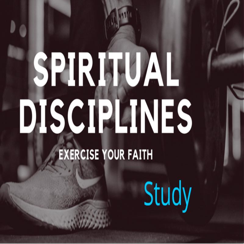 Spiritual Disciplines: Study Image