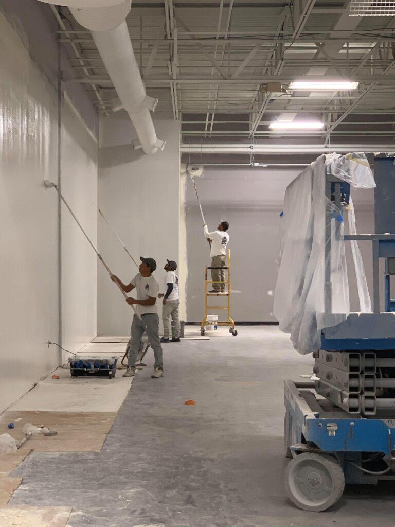 Commercial paint contractors Utah