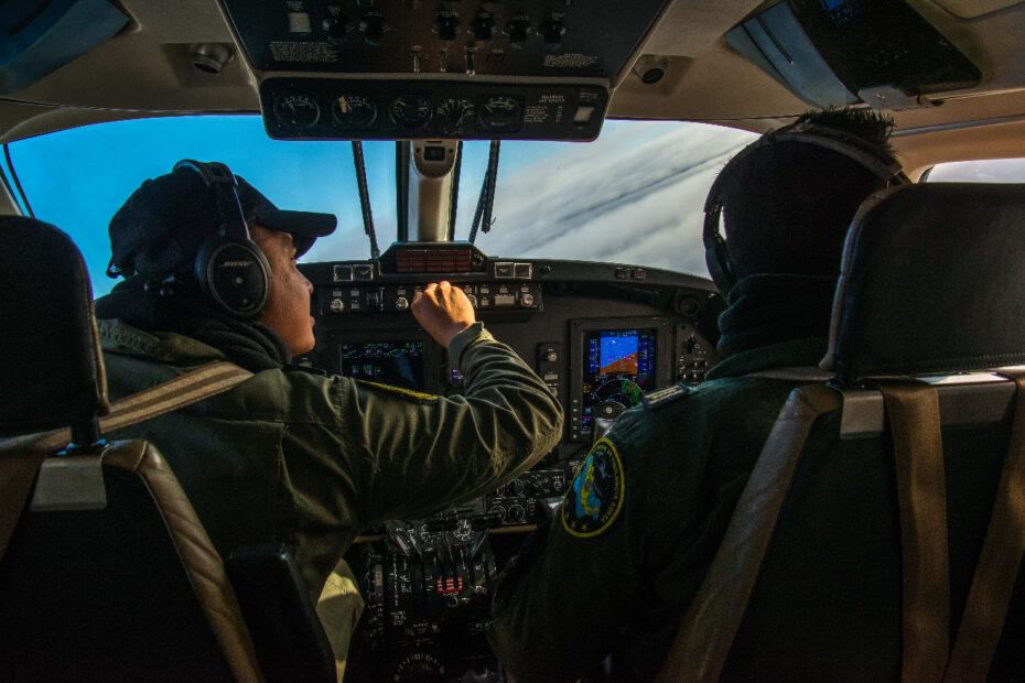 Fuerza Aérea Mexicana avión contra incendios forestales