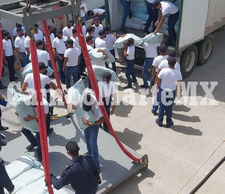 Zarparán hacia Cuba buques de SEMAR este domingo con ayuda humanitaria