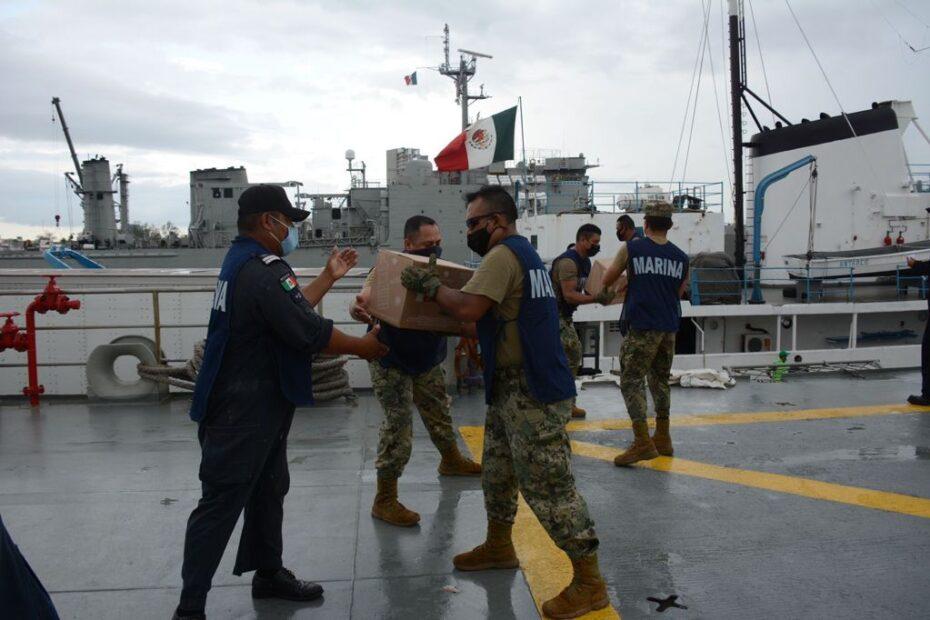 Buques de la SEMAR se dirigen a Haití con más ayuda humanitaria; los escolta una Patrulla Oceánica
