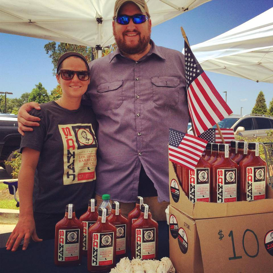 Jay Ducote's Louisiana Barbecue Sauce launched this week! Photo credit- Bite and Booze Facebook page