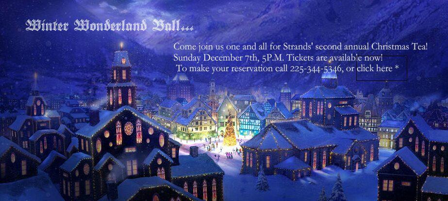Strands Baton Rouge Christmas Tea