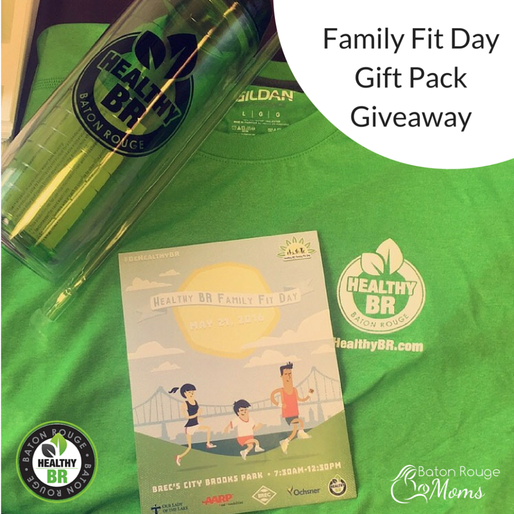 Family Fit Day Gift Pack Giveaway