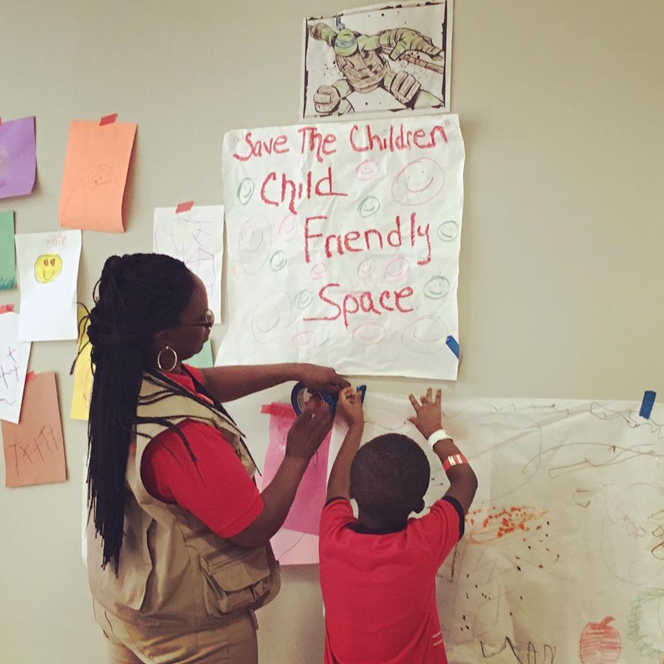 Save the Children Baton Rouge Flood