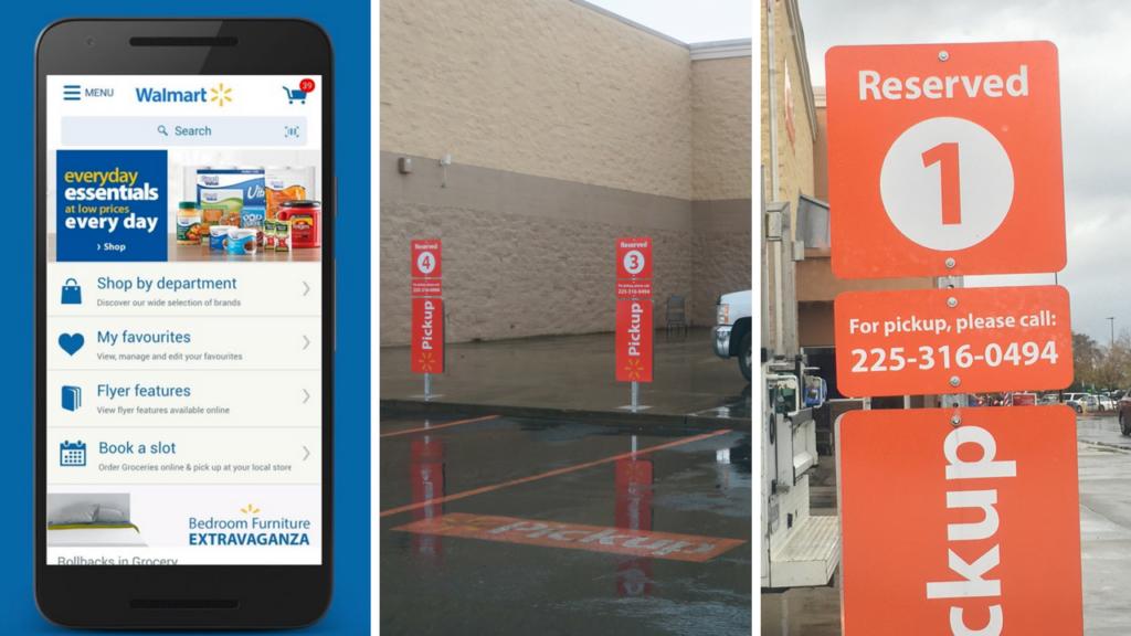 Walmart Online Grocery Pickup Service Baton Rouge