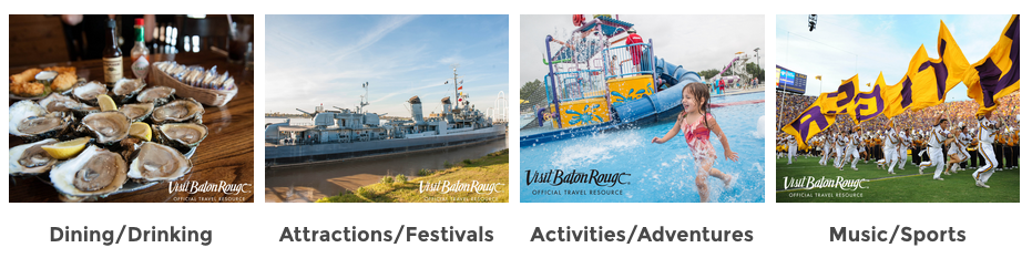 200 Things to do in Baton Rouge