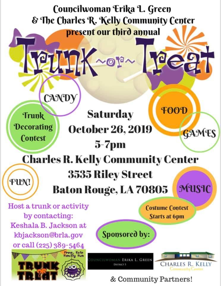 Baton Rouge Trick or Treat Trunk or Treat
