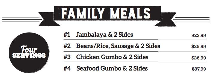 Family Meal Bundles