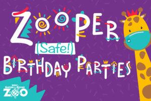 Zooper Birthday Parties
