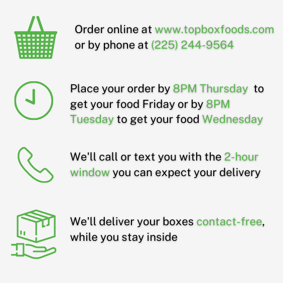 Top Box Foods Louisiana