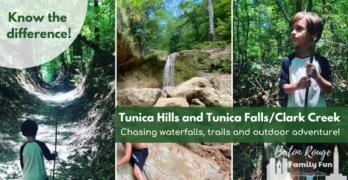 Tunica Hills and Tunica Falls/Clark Creek