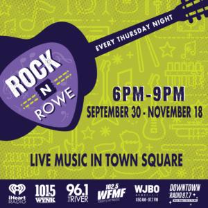 Perkins Rowe Rock the Rowe
