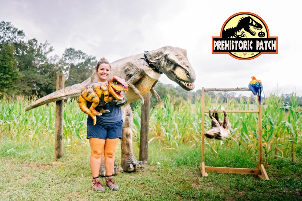 Barn Hill Preserve Dinosaurs