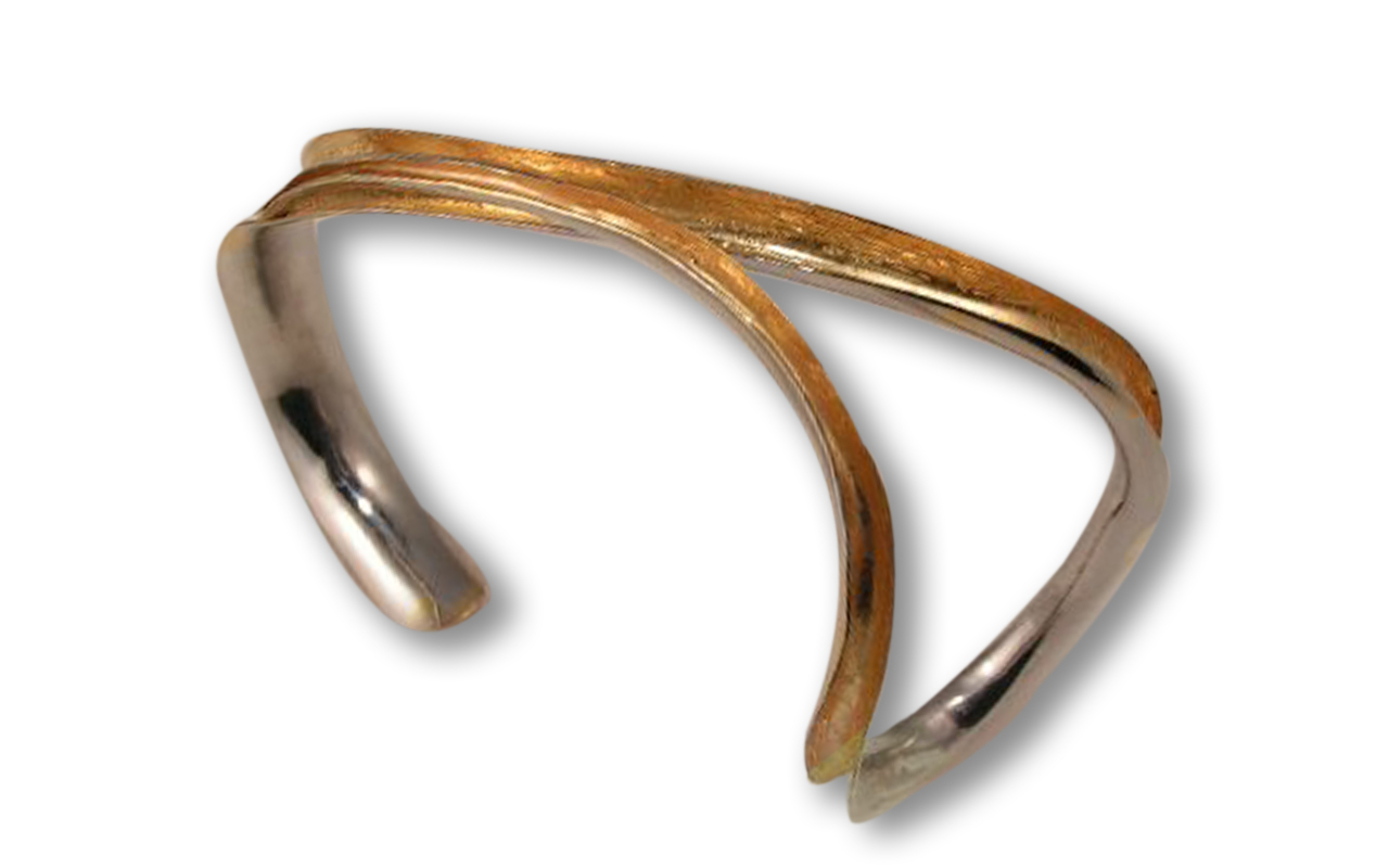 Anticlastic Forged Bracelet