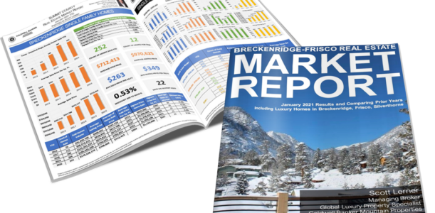 Breckenridge-Frisco Area Real Estate Market Report January 2021