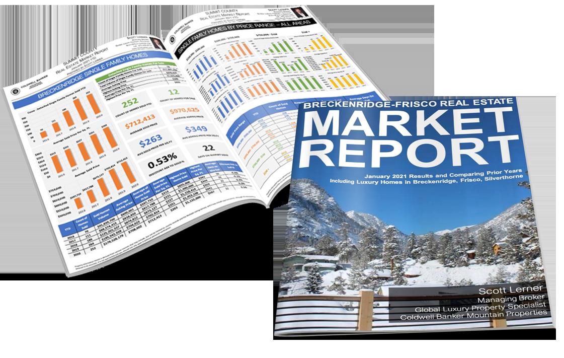 Breckenridge-Frisco Area Real Estate Market Report January 2021