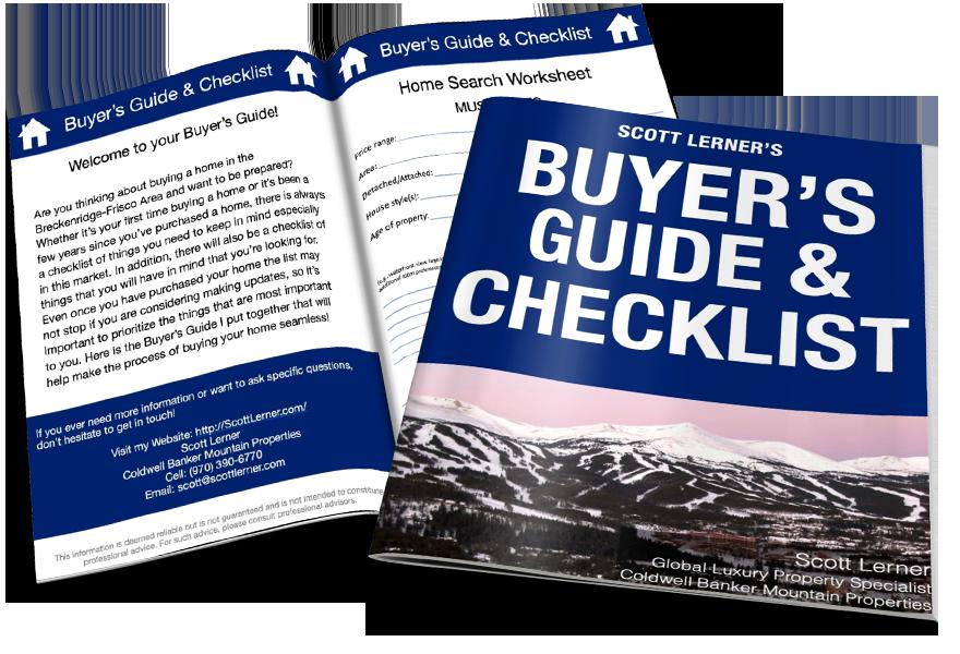 Breckenridge-Frisco Area Buyer's Guide & Checklist