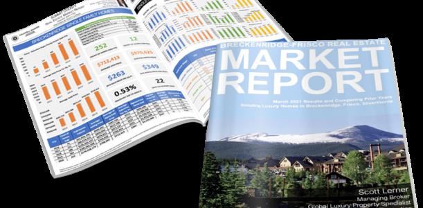Breckenridge-Frisco Area Real Estate Market Report March 2021