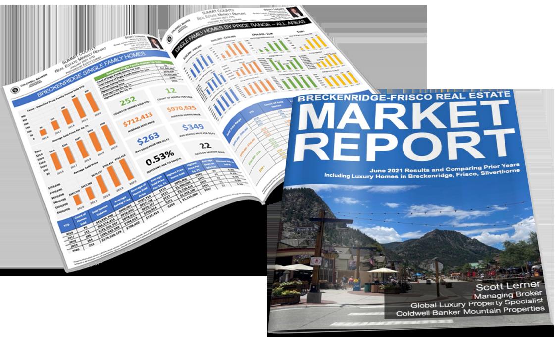 Breckenridge-Frisco Area Real Estate Market Report June 2021