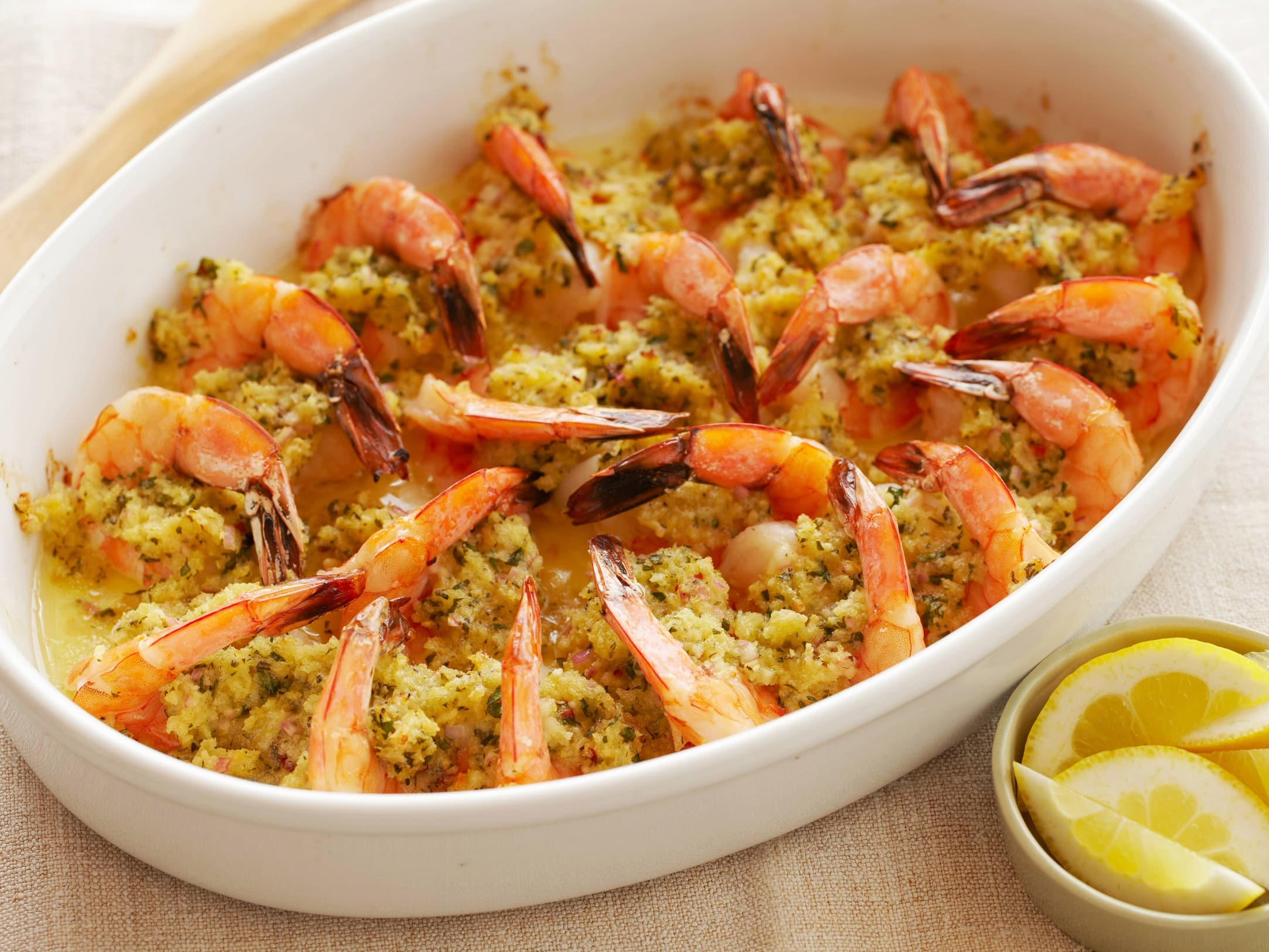 Baked Stuffed Shrimp With Crab recipe