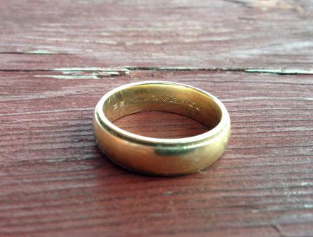 lost ring Wisconsin Dells