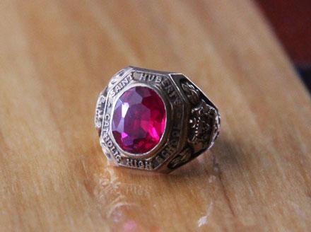 lost ring St Hubert