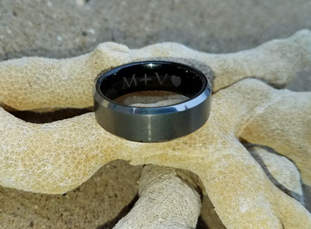 lost ring at the beach
