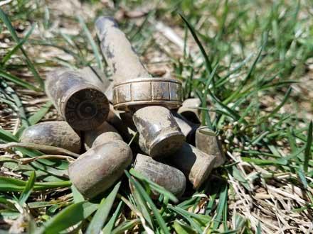 lost ring in a field
