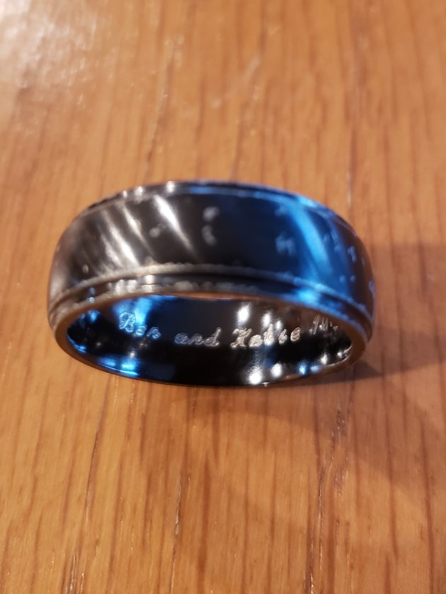Ben and Katie lost ring