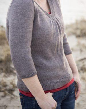 boob friendly Afterlight sweater pattern