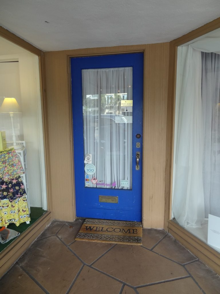 Sea Cup and Up Front Door