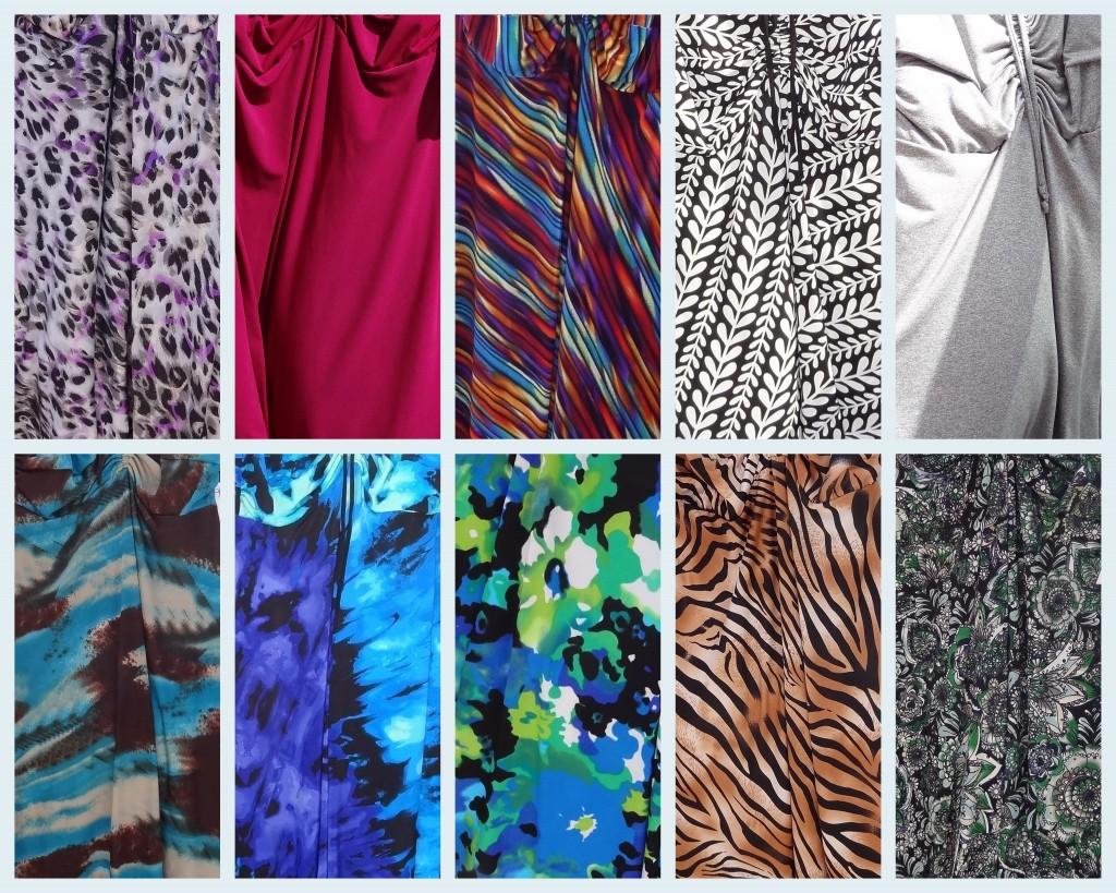 D Cup Dress fabric options Bolero