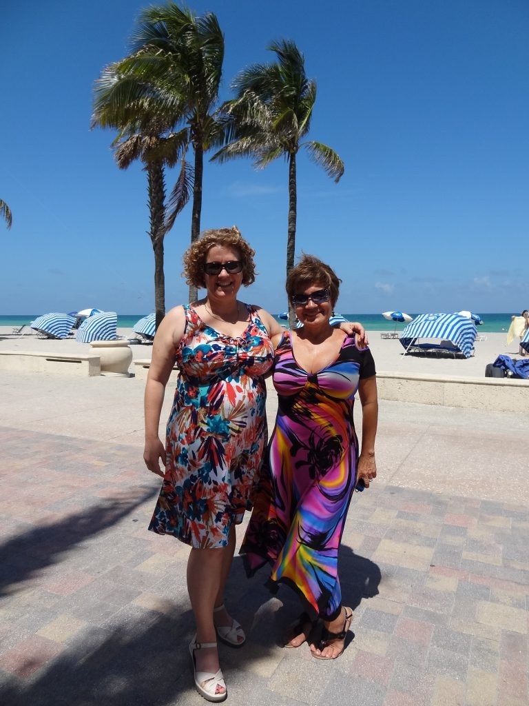 D cup dress Darlene and Patricia in Hollywood FL