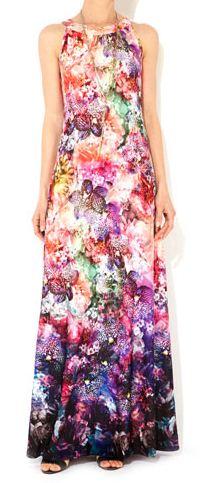 Wallis digital floral print maxi dress.