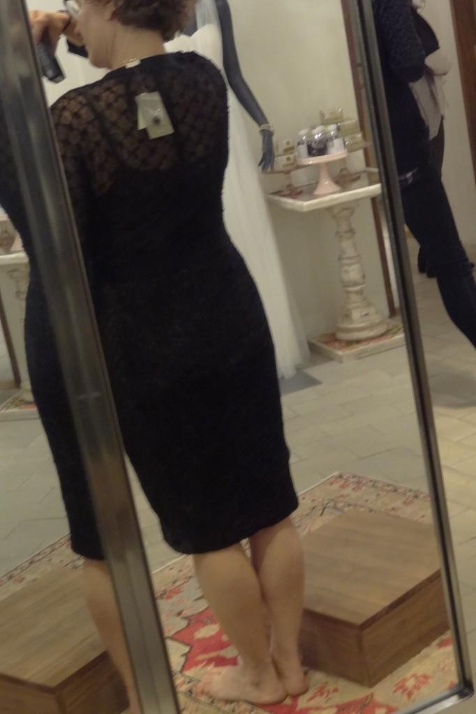 back of bust friendly beguile byron lars dress