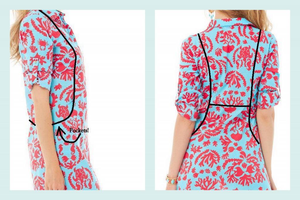 DD friendly Lily Pulitzer sanibel tunic dress