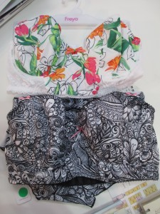 Utopia (top) and Zentangle padded longlines. Sizes 32–38C, 28–38 D–G, 28–36 GG–H.