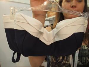 The origami-like folds on the Portofino bandeau are fantastic. Sizes 30–38 D–G.